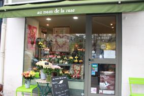 Rueil commerces plus - Au nom de la rose fleuriste ...